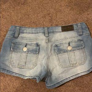Vintage True Bliss Faded Denim Shorts